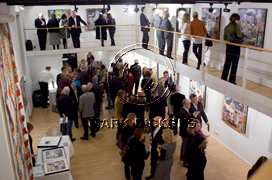 Guests at the London Exhibition